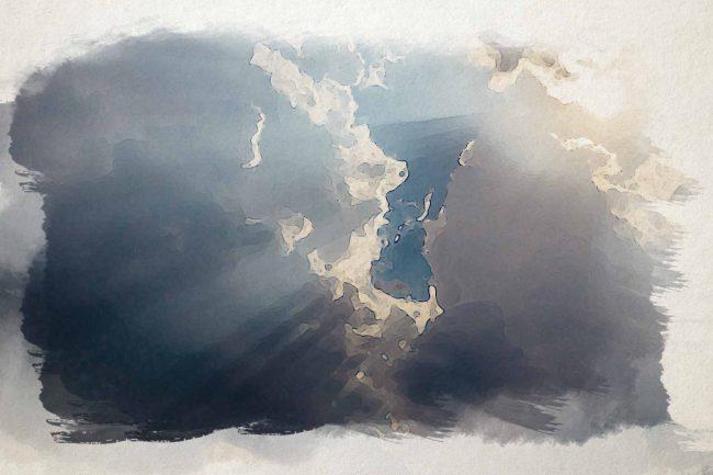 cloud sky blue sunlight