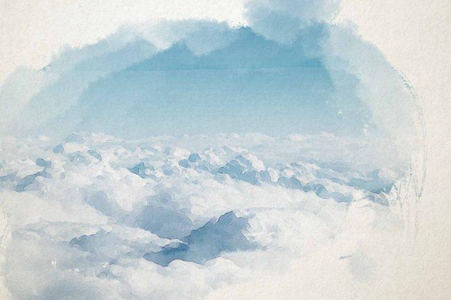 cloud sky blue white cloud