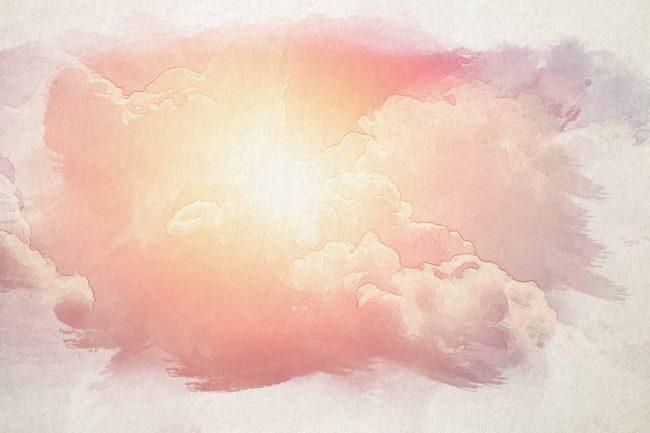 cloud sky pink sunlight