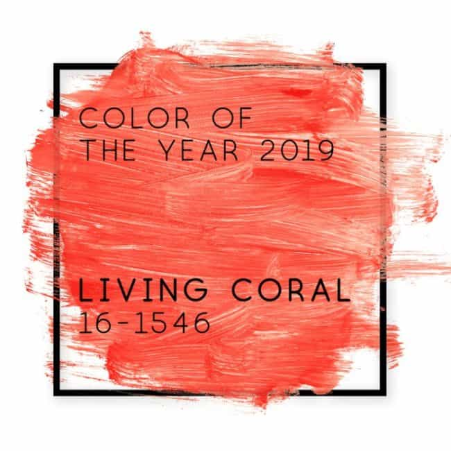 color of year coral