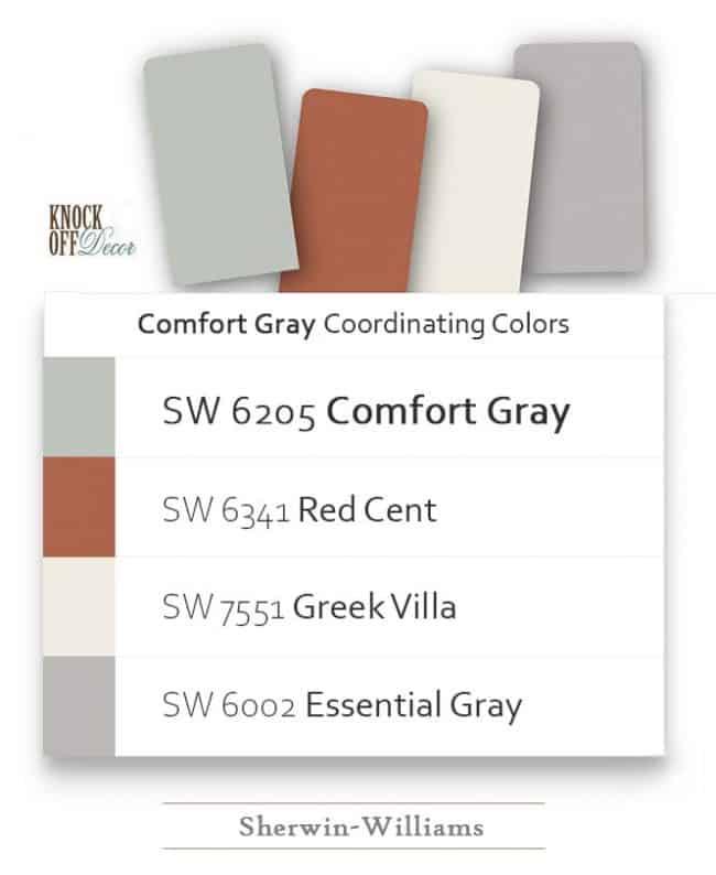 comfort gray coordination