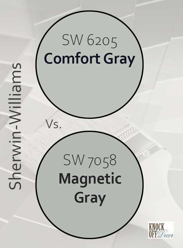 comfort gray vs magnetic gray