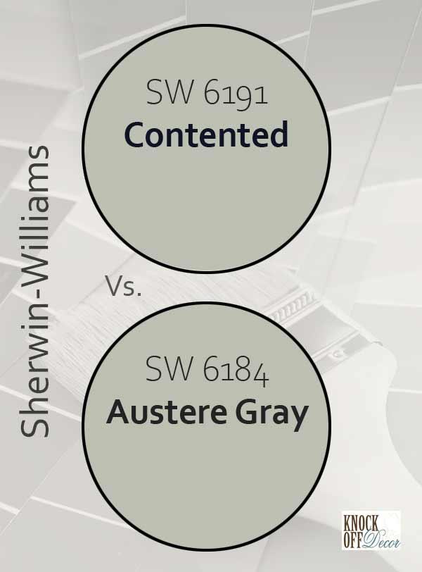 contented vs austere gray