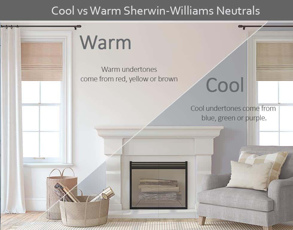 cool warm neutrals mockup