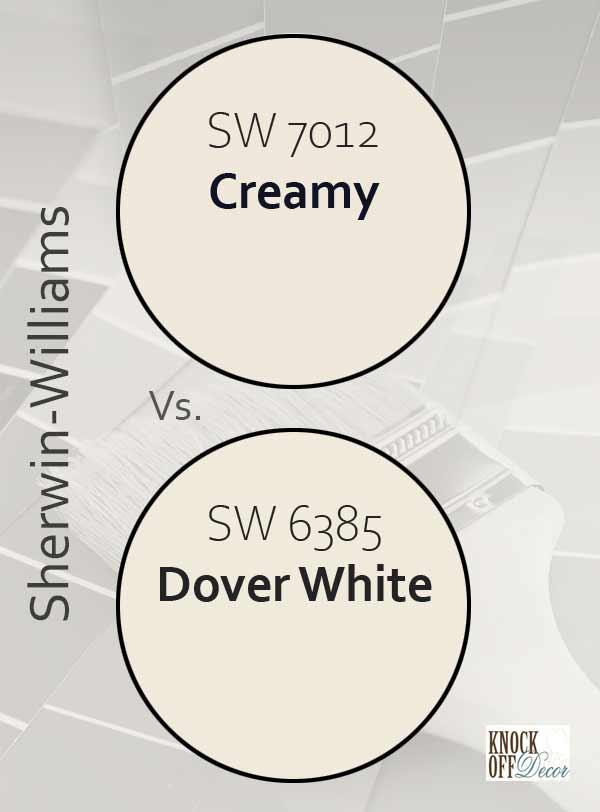 cream vs dover white