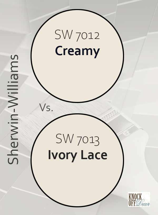 cream vs ivory lace