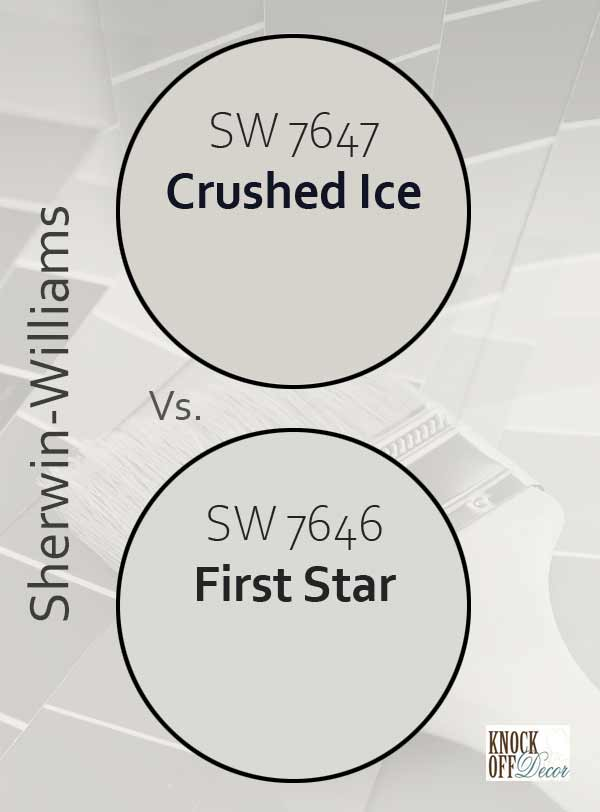 crushed ice vs first star