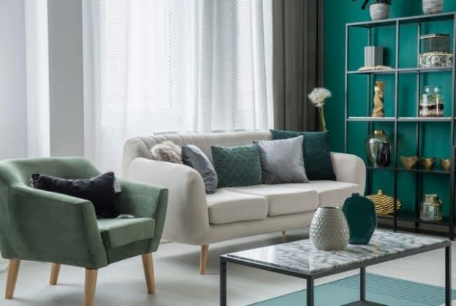 dark emerald green decor