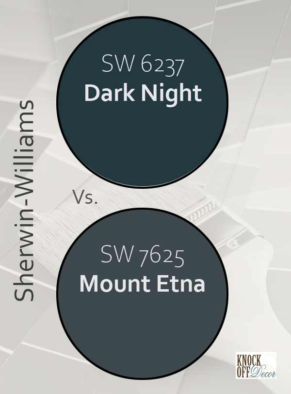 dark night vs mount etna