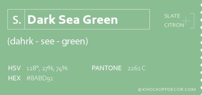 dark sea green info box