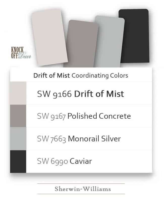 drift of mist coordination