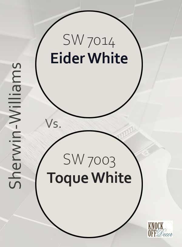 eider white vs toque white