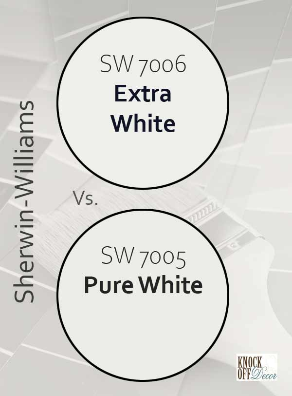 extra white vs pure white