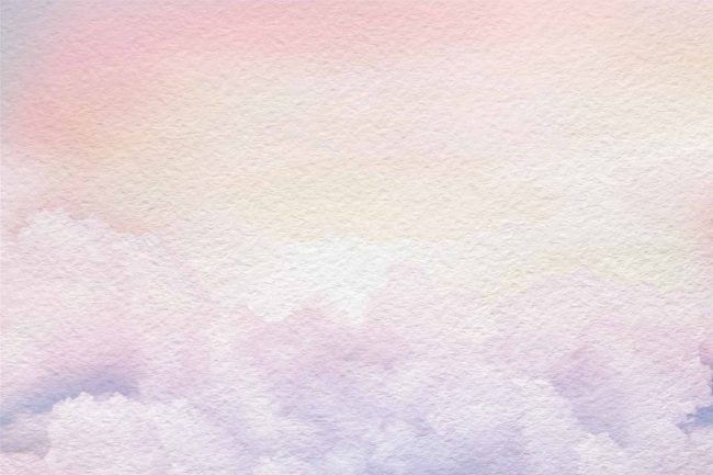 faded pastel clouds