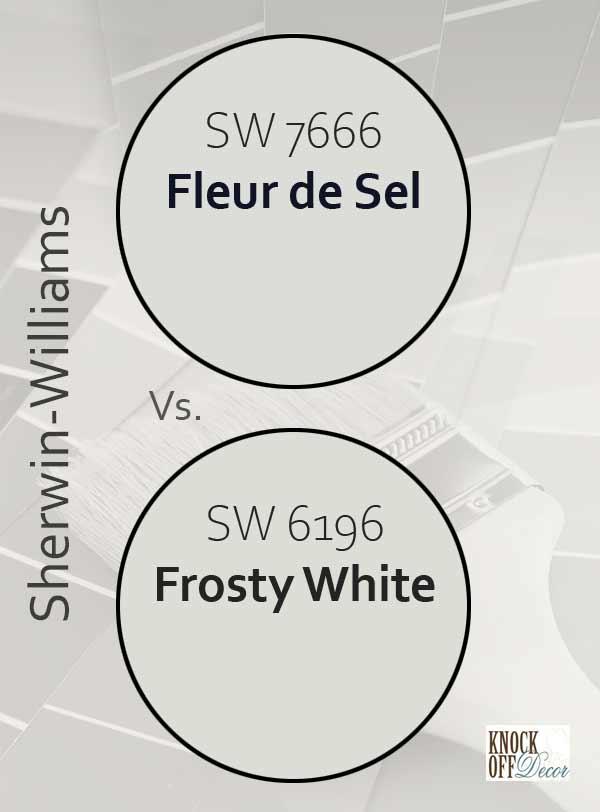 fleur de sel vs frosty white