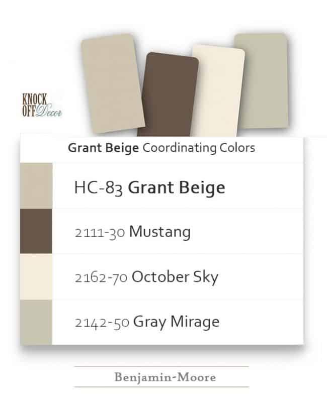 grant beige coordination