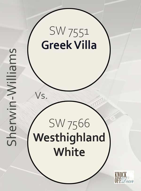 greek villa vs westhighland white