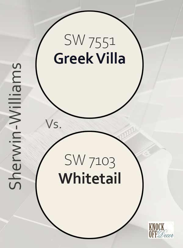 greek villa vs whitetail