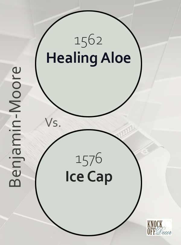healing aloe vs ice cap