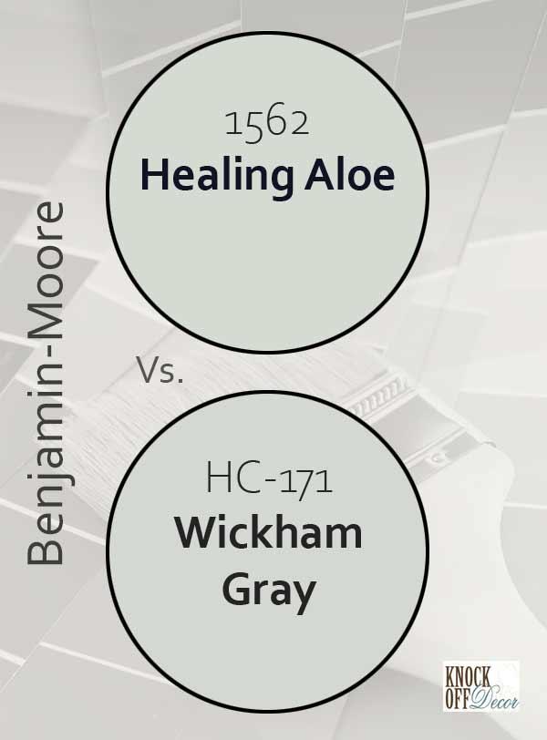 healing aloe vs wickham gray