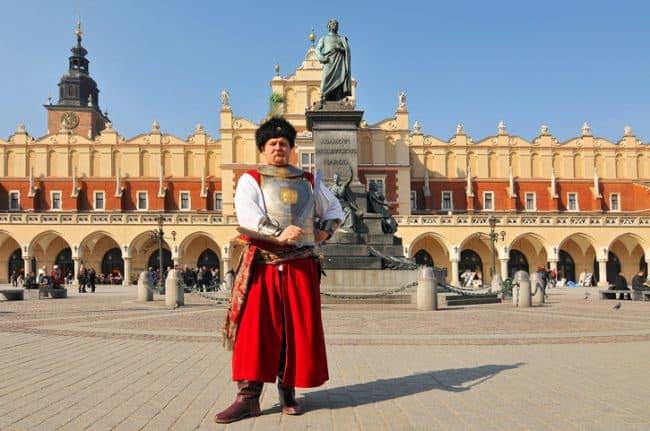 historical attire in vermilion