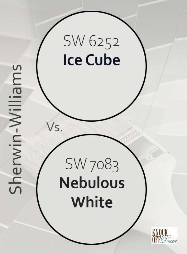 ice cube vs nebulous white