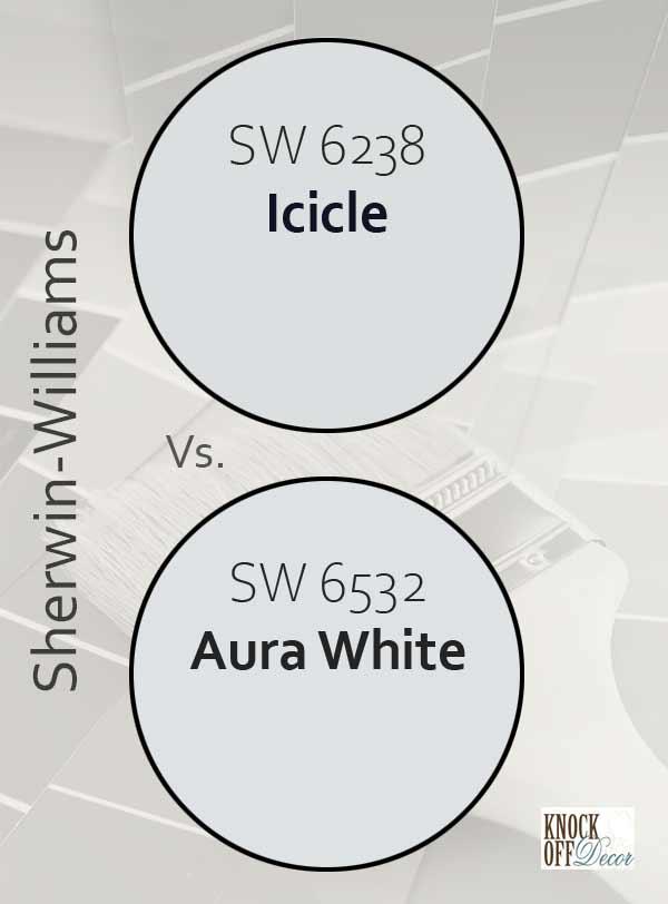 icicle vs aura white