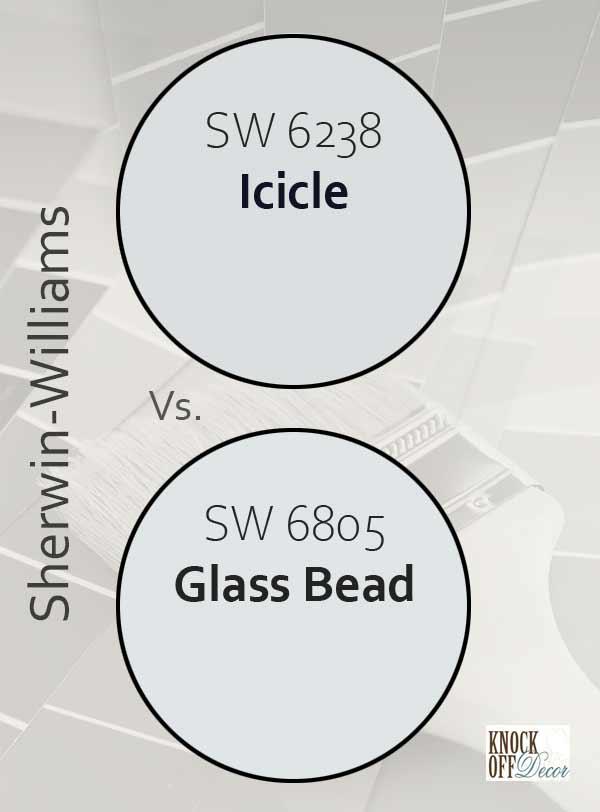 icicle vs glass bead