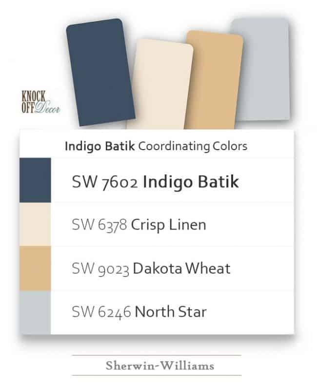 indigo batik coordination