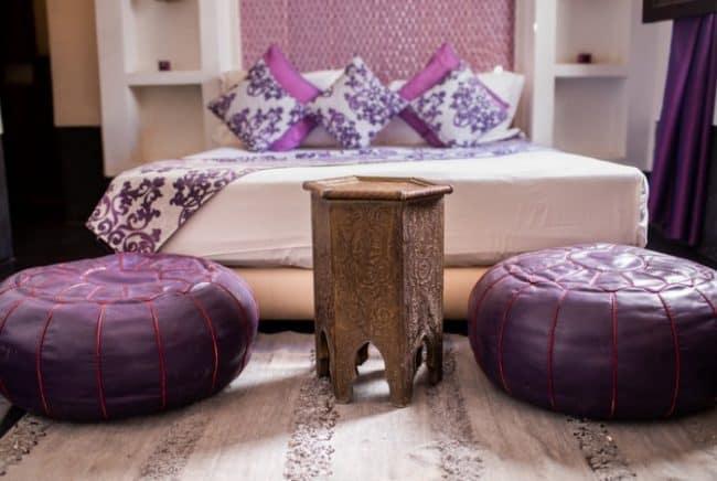interior design using mauve