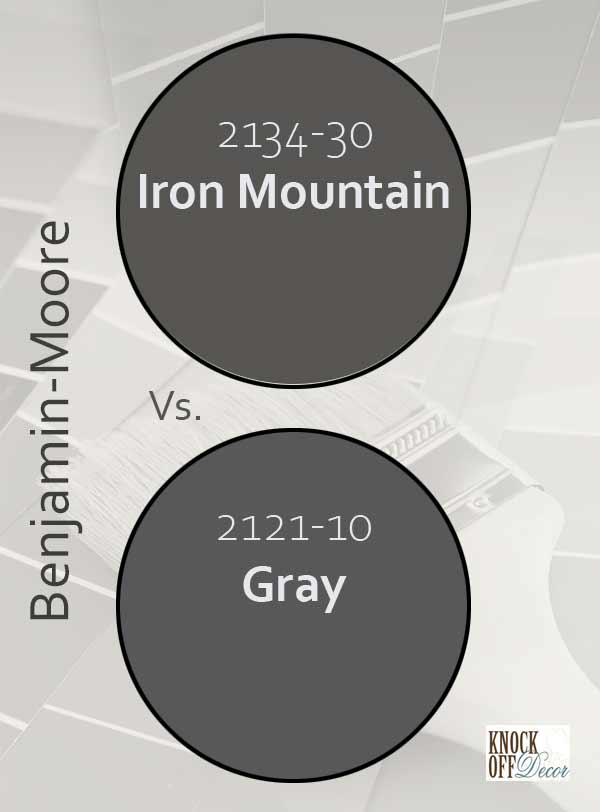 iron mountain vs gray