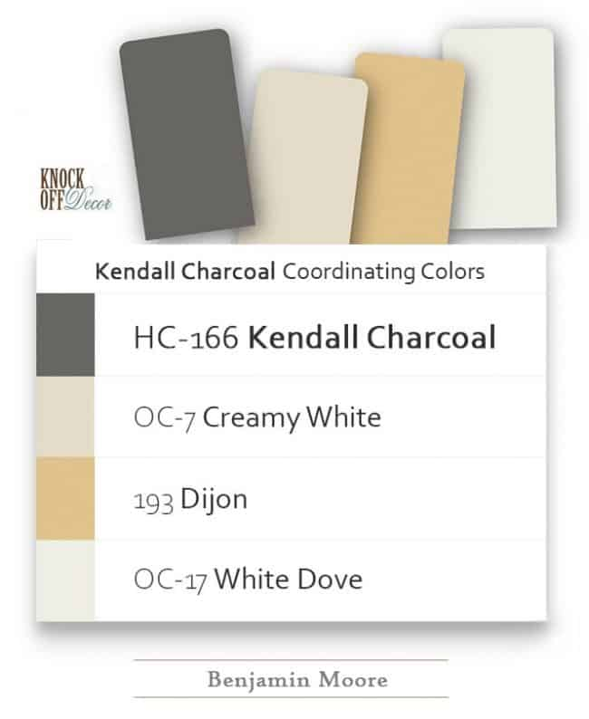 kendall charcoal coordination