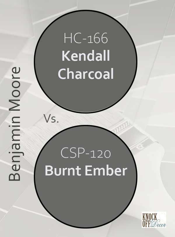 kendall charcoal vs burnt ember