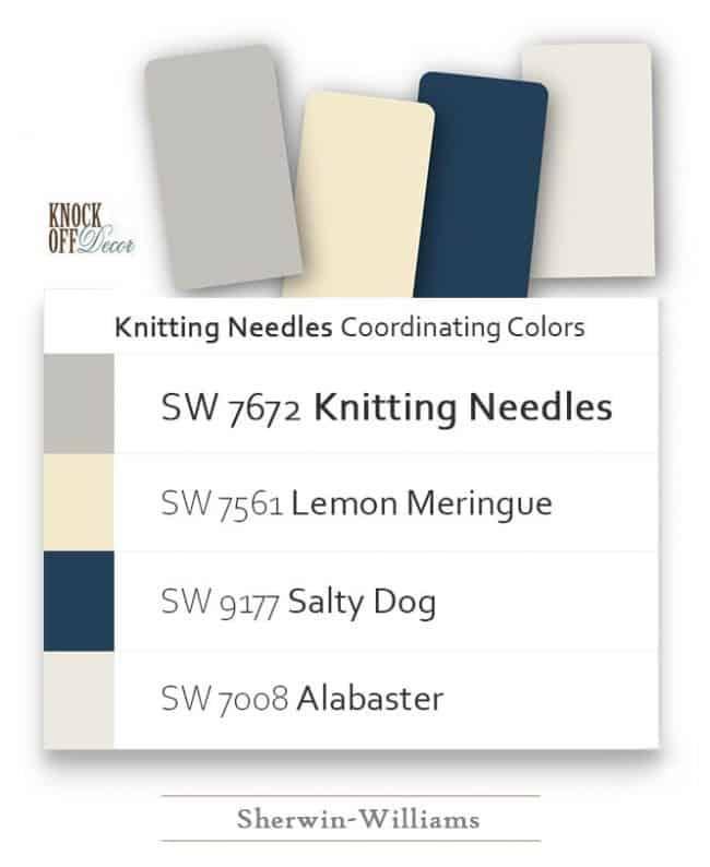 knitting needles coordination