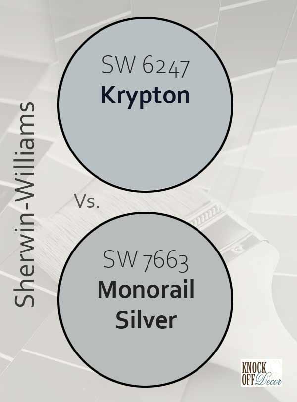 krypton vs monorail silver