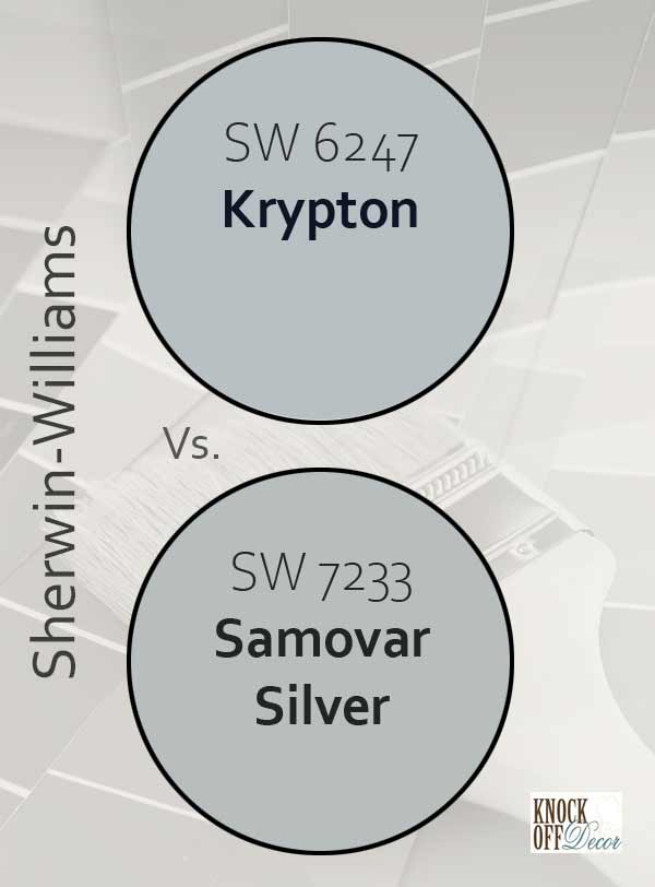 krypton vs samovar silver