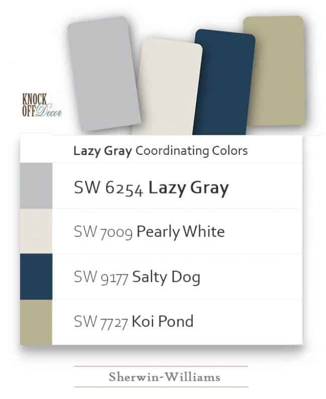 lazy gray coordination
