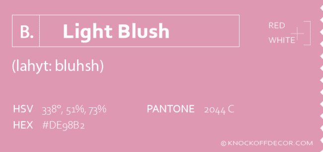 light blush info box