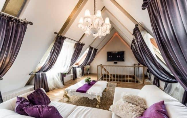 light for living room attic