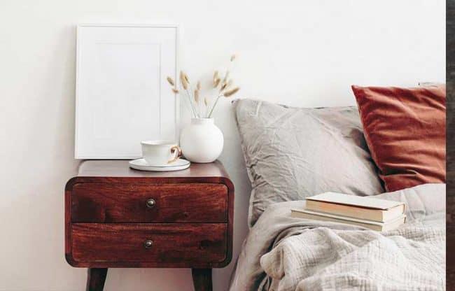 mahogany home decor example