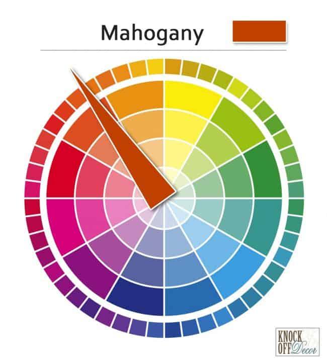 mahogany on wheel