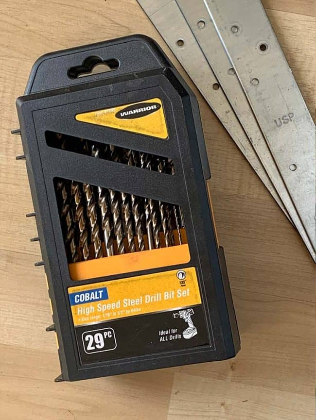 metal rated drill bits for diy hardware