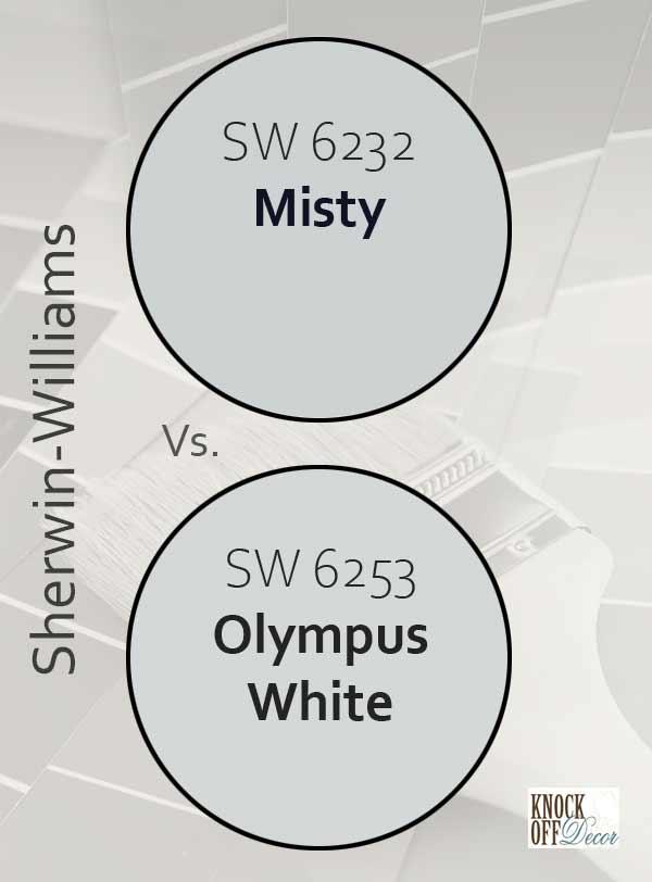 misty vs olympus white