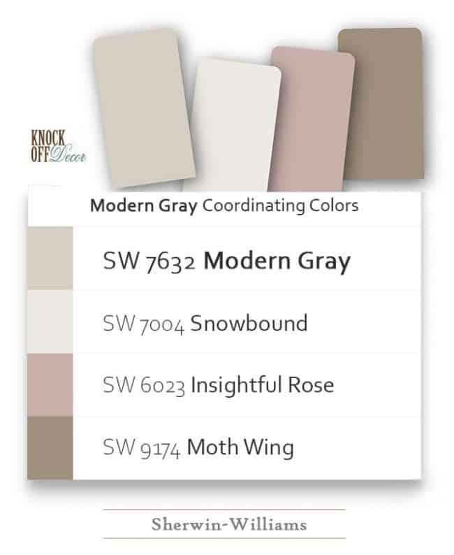 modern gray coordination