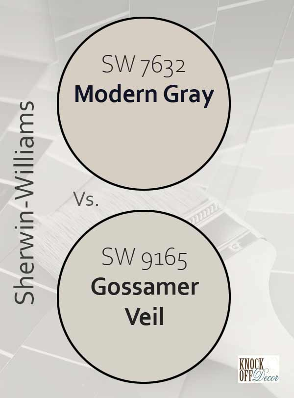 modern gray vs gossamer veil