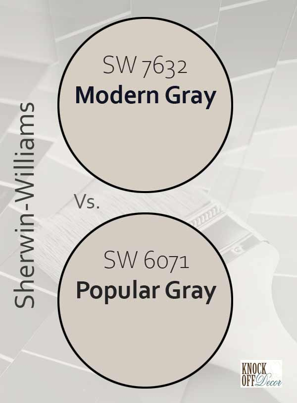 modern gray vs popular gray