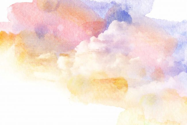 multi colored cloud effects