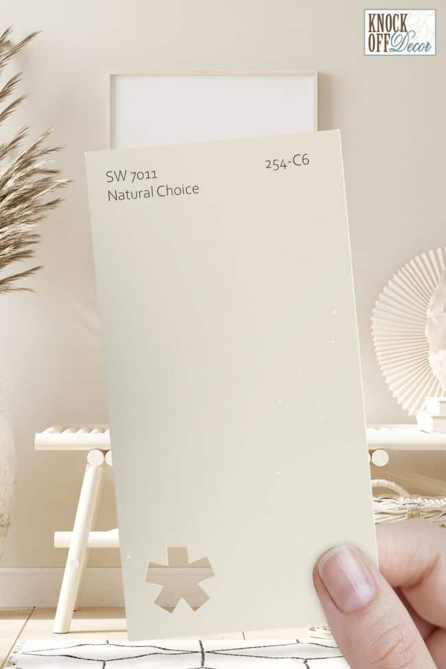 natural choice single paint chip