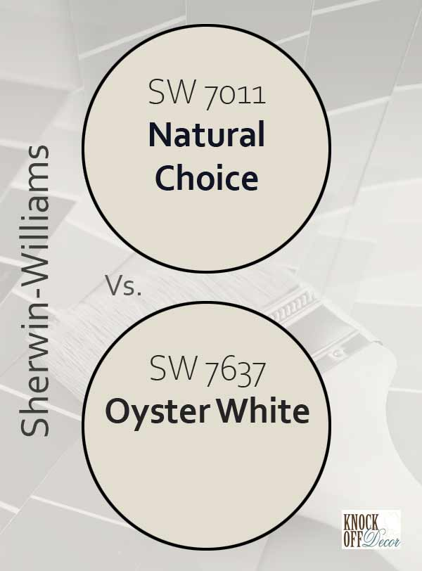 natural choice vs oyster white