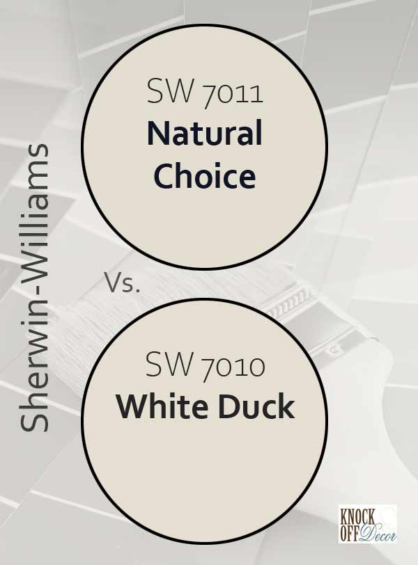 natural choice vs white duck
